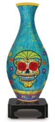 Day of the Dead - 160 pc 3D Puzzle Vase