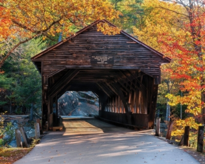 Albany Covered Bridge - 1000pc Jigsaw Puzzle by White Mountain