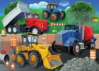 Trucks & Tractors - 24pc Jigsaw Puzzle By White Mountain