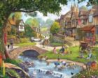 Summer Village - 1000pc Jigsaw Puzzle By White Mountain