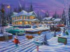Snowman Contest - 1000pc Jigsaw Puzzle By White Mountain