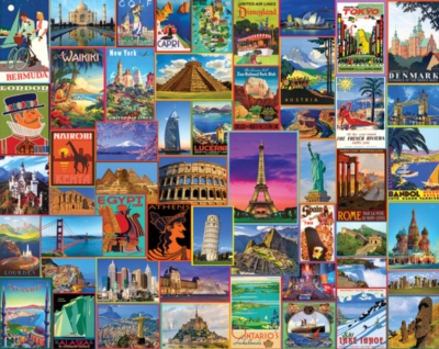 Best Places in the World - 1000pc Jigsaw Puzzle By White Mountain