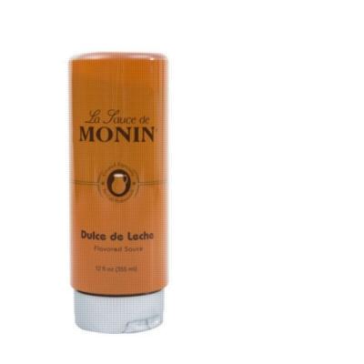Monin Gourmet Dulce de Leche Sauce - 12 oz. Squeeze Bottle