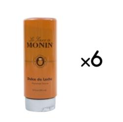 Monin Gourmet Dulce de Leche Sauce - 12 oz. Squeeze Bottle Case