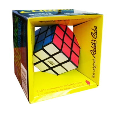 Original Rubik's Cube with stickered sides