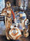 Star Wars: Droids of the Resistance - 1000pc Photomosaic Jigsaw Puzzle by Buffalo Games