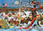Charles Wysocki: HOLIDAY - Small Town Christmas - 1000pc Jigsaw Puzzle by Buffalo Games