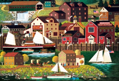 The Cambridge - 2000pc Jigsaw Puzzle by Buffalo Games