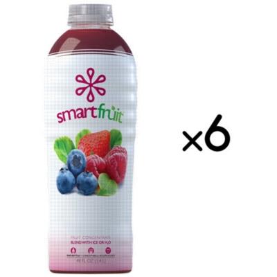 SmartFruit - 100% Real Fruit Puree: 48 fl. oz. Bottle Assorted Case