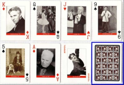 Charlie Chaplin - Playing Cards