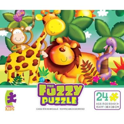 Fuzzy Puzzle: Safari by Ceaco