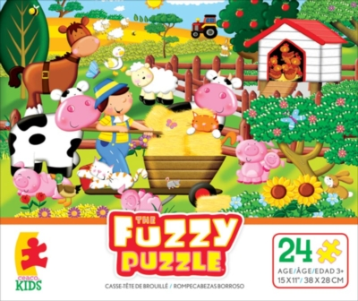 Fuzzy Puzzle: Farm by Ceaco