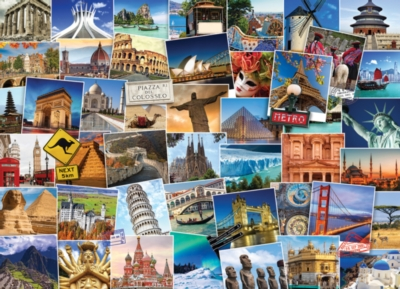 World Globetrotter - 1000pc Jigsaw Puzzle by EuroGraphics