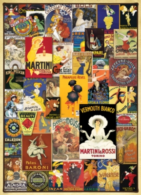 Vintage Posters - 1000pc Jigsaw Puzzle by EuroGraphics