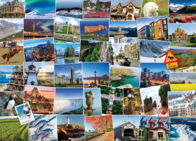 The Globetrotter Collection - Canada - 1000pc Jigsaw Puzzle by Eurographics