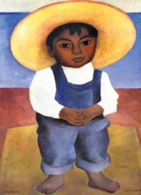 Frida Kahlo & Diego Rivera: Portrait of Ignacio Sanchez - 1000pc Jigsaw Puzzle by Eurographics