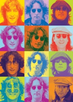 Celebrities: John Lennon - Color Portraits - 1000pc Jigsaw Puzzle by Eurographics