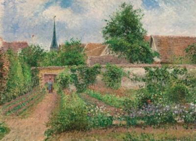 Vegetable Garden / Camille Pissarro - 1000pc Jigsaw Puzzle by Eurographics