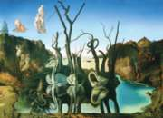 Salvador Dali: Swans Reflection Elephants - 1000pc Jigsaw Puzzle by Eurographics