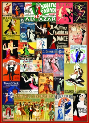 Ballroom Dancing - 1000pc Jigsaw Puzzle by Eurographics
