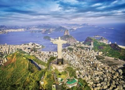 Rio de Janeiro Brazil - 1000pc Jigsaw Puzzle by Eurographics