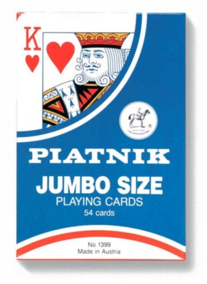 """Giant 7"""" x 4"""" - Oversize Playing Cards"""
