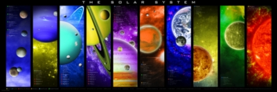 The Solar System - 1000pc Jigsaw Puzzle by Eurographics