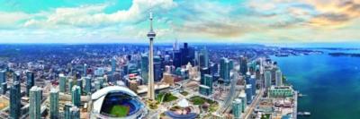 Toronto Canada - 1000pc Jigsaw Puzzle by Eurographics