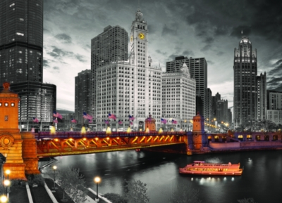 Chicago - 1000pc Jigsaw Puzzle by Eurographics