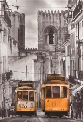 The Alfama District, Lisbon - 1500pc Jigsaw Puzzle by Educa