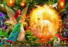 Peacock Feather Fairy - 1000pc Jigsaw Puzzle by Educa