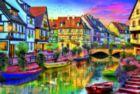 Colmar Canal, France - 4000pc Jigsaw Puzzle by Educa