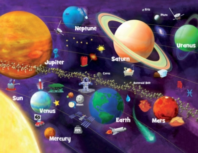 Solar System Glow - 60pc Jigsaw Puzzle By Masterpieces
