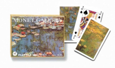 Monet: Lilies - Double Deck Playing Cards