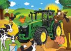 John Deere: Hanging Out - 60pc Jigsaw Puzzle by Masterpieces