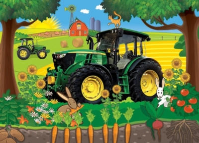 John Deere: Lunchtime Break - 60pc Jigsaw Puzzle by Masterpieces