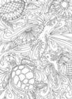 Puzzle Escapes: Undersea - 500pc Coloring Jigsaw Puzzle by Masterpieces
