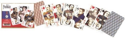 Pushkin - Double Deck Playing Cards