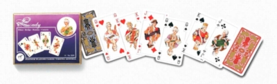 Lady - Double Deck Playing Cards