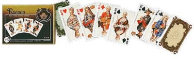 Rococo - Double Deck Playing Cards