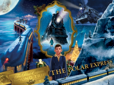 The Polar Express - 500pc Jigsaw Puzzle By Masterpieces