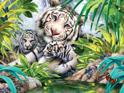 Animal Planet: Jewel of the Jungle - 300pc Jigsaw Puzzle by Masterpieces