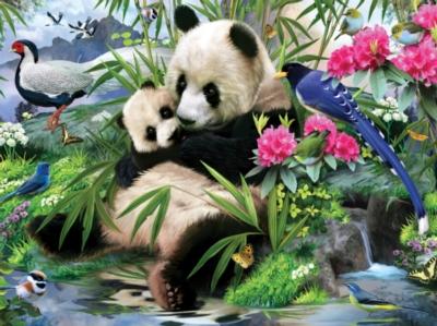 Animal Planet: Panda Sanctuary - 300pc Jigsaw Puzzle by Masterpieces