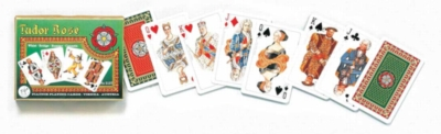 Tudor Rose - Double Deck Playing Cards