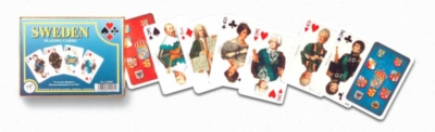 Sweden - Double Deck Playing Cards