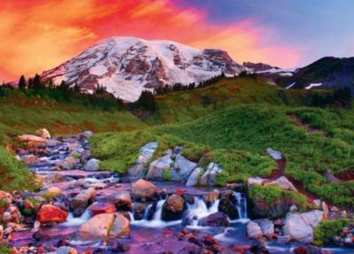 Alpine Sunrise - 1000pc Jigsaw Puzzle by Masterpieces
