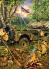 US Army: Making Camp - 1000pc Jigsaw Puzzle by Masterpieces