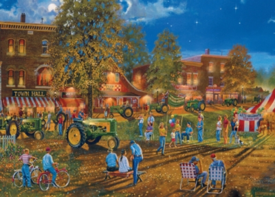 John Deere: Celebration of the Past - 1000pc Jigsaw Puzzle by Masterpieces