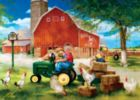 John Deere: Growing Up Country - 1000pc Jigsaw in a Tin Puzzle by Masterpieces