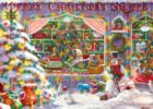 Christmas Shop - 1000pc Jigsaw Puzzle by Masterpieces